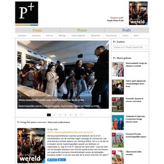 P+- People, Planet, Profit