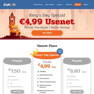 Eweka - Usenet Access - Network Services
