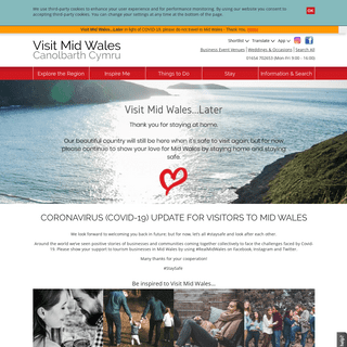 This is Mid Wales 2020 - Visit Mid Wales Official Visitor Guide to Mid Wales