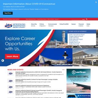 Metropolitan Washington Airports Authority -