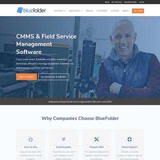 Field Service Management Software - BlueFolder