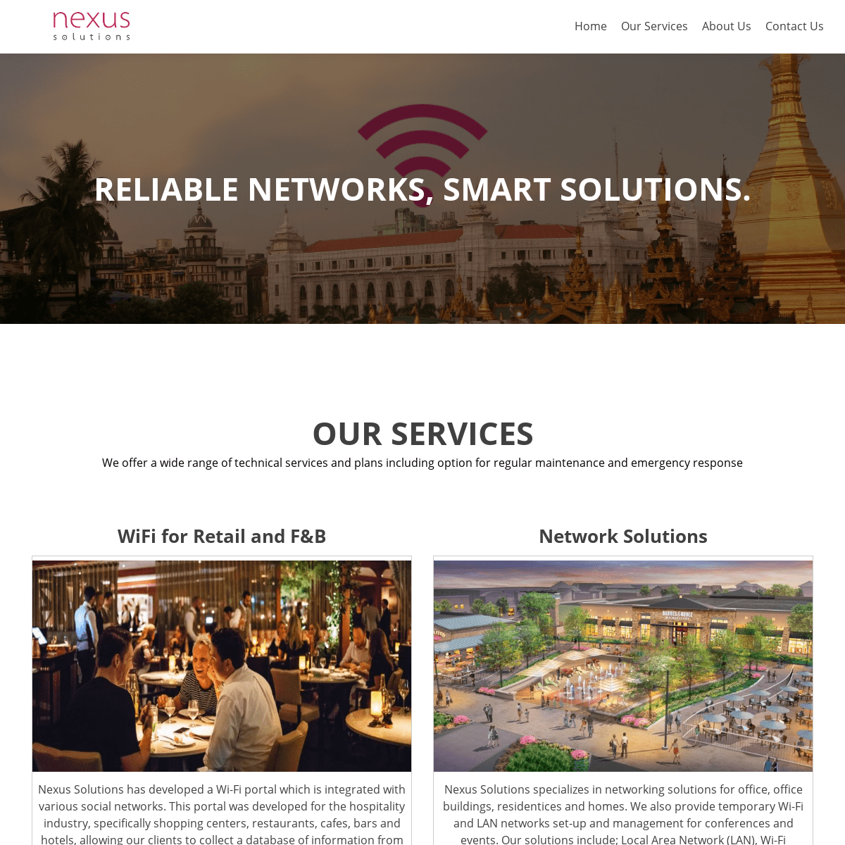 Nexus Solutions – Reliable Networks, Smart solutions.