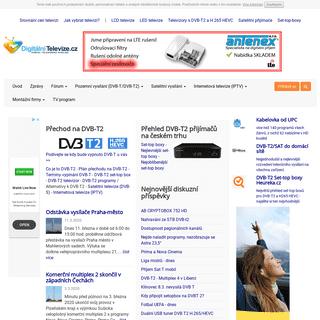 DigitálníTelevize.cz - digitální televize, digitální vysílání, dvb-t