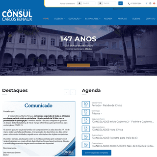 Colégio Cônsul Carlos Renaux - Brusque SC