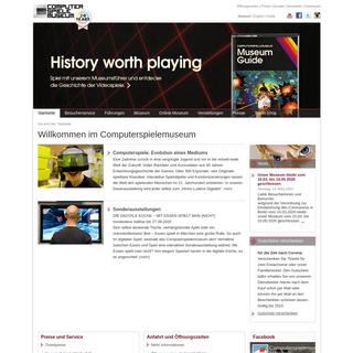 Computerspielemuseum - Startseite