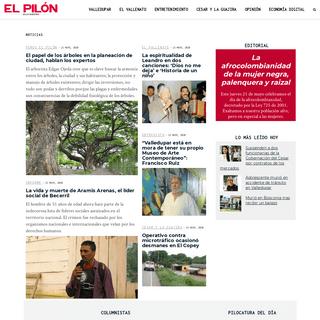 El Pilón - Noticias de Valledupar, El Vallenato y el Caribe Colombiano - El Pilón es la web líder en noticias de Valledupar,