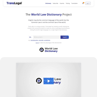 TransLegal – Legal English for Lawyers