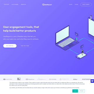 UserReport- Simple user engagement tools, that help you improve