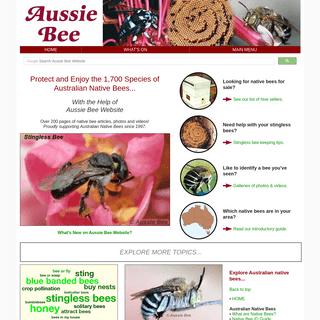 ArchiveBay.com - aussiebee.com.au - Aussie Bee Website homepage