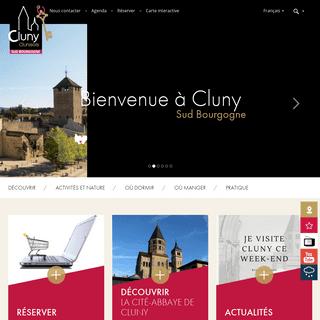 Office de Tourisme de Cluny et du Clunisois (71) - Patrimoine européen, Bourgogne du Sud