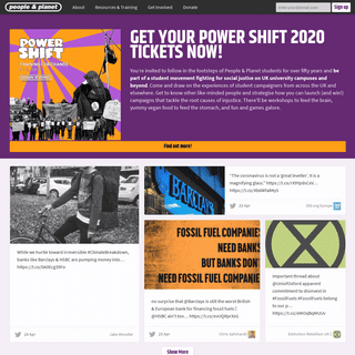 ArchiveBay.com - peopleandplanet.org - People & Planet - Home of the grassroots student-led campaigning organisation working on climate change, worker and migrant righ