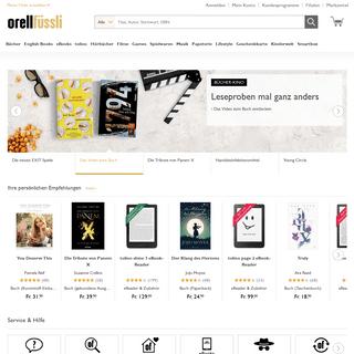 Orell Füssli - Der Buchhändler Ihres Vertrauens