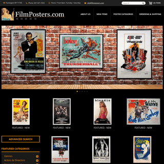 Movie Posters, Lobby Cards, Vintage Movie Memorabilia - 1920s to present @ Film Posters