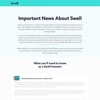 ArchiveBay.com - swellinvesting.com - Swell Investing - Goodbye