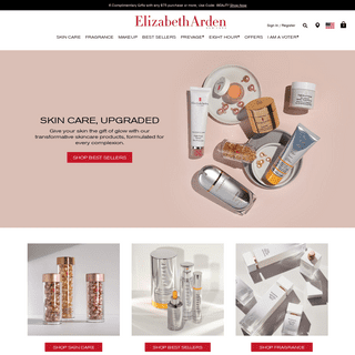Elizabeth Arden Makeup, Skincare, Perfume & Gifts - Official Site
