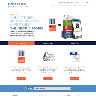 Bar Code Graphics UPC Barcodes Printed Labels Digital Files