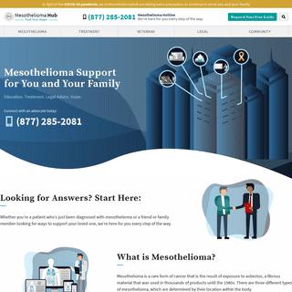 ArchiveBay.com - mesotheliomahub.com - Mesothelioma Hub - Mesothelioma Symptoms, Treatment, Life Expectancy