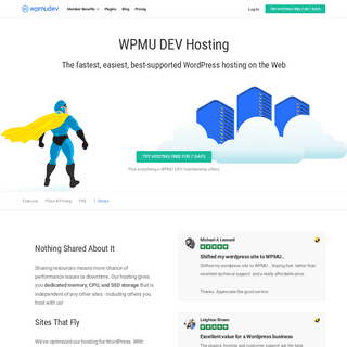 Fully Dedicated Managed WordPress Hosting