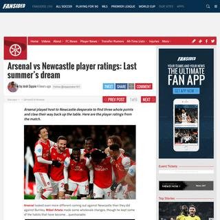 ArchiveBay.com - paininthearsenal.com/2020/02/16/arsenal-newcastle-player-ratings/ - Arsenal vs Newcastle player ratings- Last summer's dream