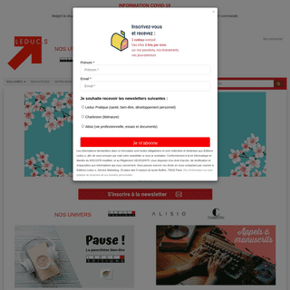 Le site des éditions Leduc - vente en ligne de livres et d'ebooks (livres numériques)
