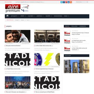 Nice Premium - l'actualité en ligne de Nice et de sa région