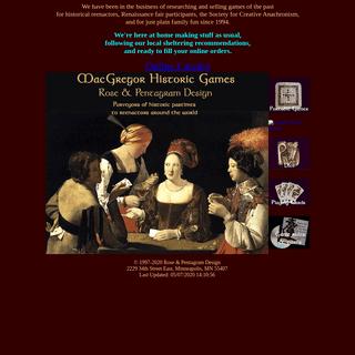 Historic Games & Celtic Art