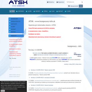 Kompresory info . Informácie zo sveta kompresorov. Čo je nové v oblasti výroby stlačeného vzduchu. Čo je nové v oblasti