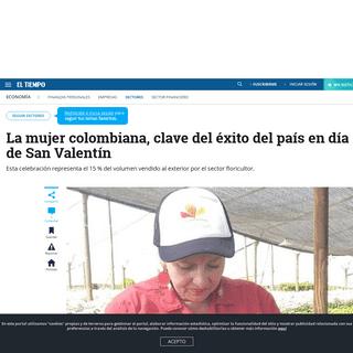 Día de San Valentín- trabajar con flores le cambió la vida a una mujer víctima de la violencia - Sectores - Economía - ELTI