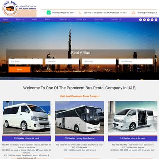 Passengers Transport Companies In Dubai. Staff Transport