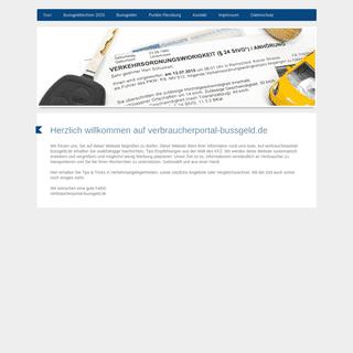 verbraucherportal-bussgeld.de - Online-Ratgeber für KFZ-Verbraucher
