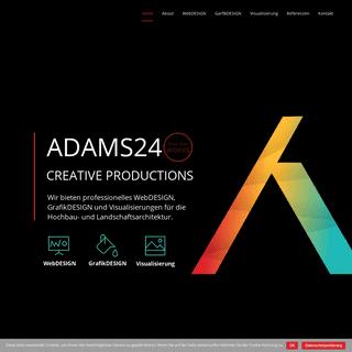 ADAMS24 – Creative Productions…