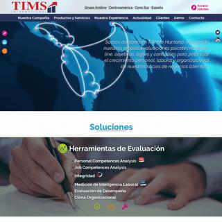 TIMS International – Asesores en Talento Humano que potencian el crecimiento personal, laboral y organizacional de nuestros cl
