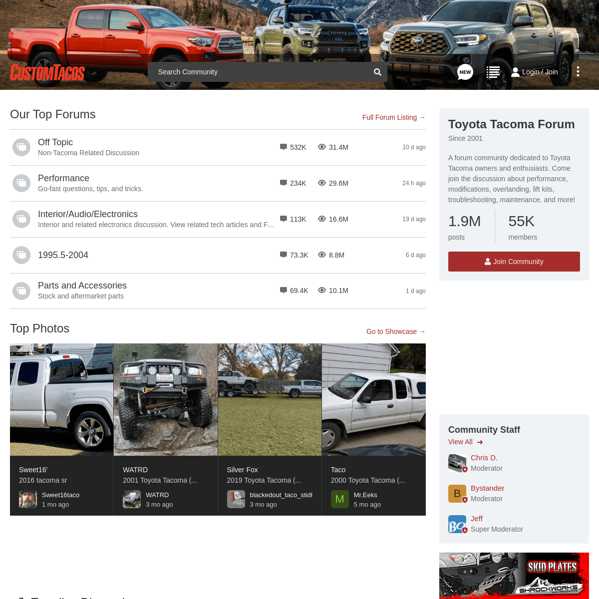 Toyota Tacoma Forum