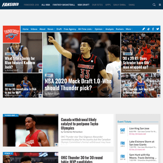 Thunderous Intentions - An Oklahoma City Thunder Fan Site - News, Blogs, Opinion and More