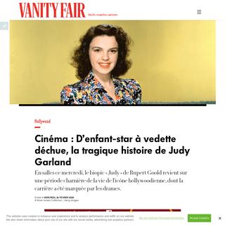 Judy Garland - D'enfant-star à vedette déchue, la tragique histoire de l'icône hollywoodienne
