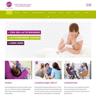 Home - NVL - Zeker over borstvoeding
