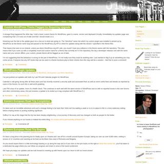 Personal Website of Kieran O'Shea