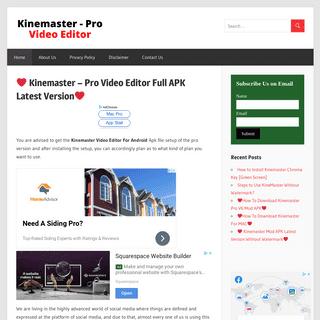 Kinemaster - Pro Video Editor Software