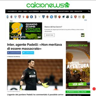 ArchiveBay.com - www.calcionews24.com/inter-agente-padelli-non-meritava-di-essere-massacrato/ - Inter, agente Padelli- «Non meritava di essere massacrato»