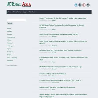 Harian Jurnal Asia - Media Transformasi Sukses