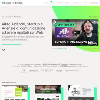 Marchetti Design – Web Design e Sviluppo Codice