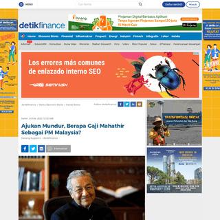 ArchiveBay.com - finance.detik.com/berita-ekonomi-bisnis/d-4912451/ajukan-mundur-berapa-gaji-mahathir-sebagai-pm-malaysia - Ajukan Mundur, Berapa Gaji Mahathir Sebagai PM Malaysia-
