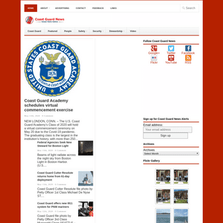 Coast Guard News - Semper nostra optima