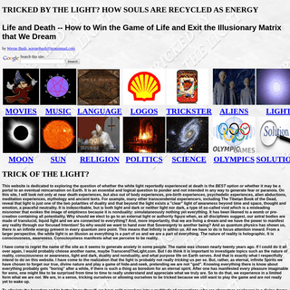 Trick of the Light- How souls are recycled in the moon and sun