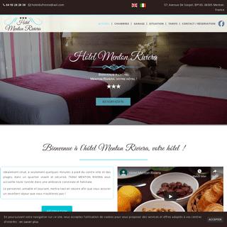 HotelMentonRiviera.com- Hôtel à Menton Côte d'Azur France