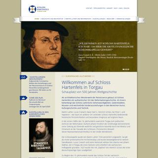 ArchiveBay.com - schloss-hartenfels.de - Schloss Hartenfels - Willkommen auf Schloss Hartenfels in Torgau