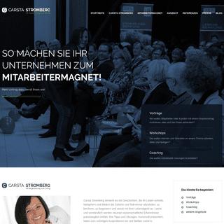 Carsta Stromberg - Mit Begeisterung zum Erfolg!