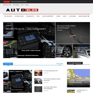 Auto-Blog - Motoryzacja - Samochody - Testy - Technika Jazdy.