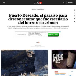 Puerto Deseado, el paraíso para desconectarse que fue escenario del horroroso crimen - MDZ Online