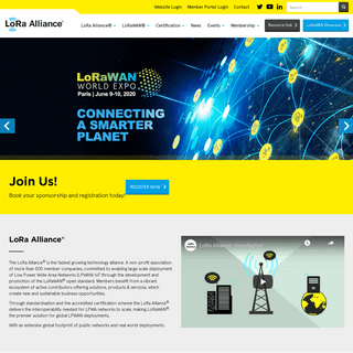 Home page - LoRa Alliance®